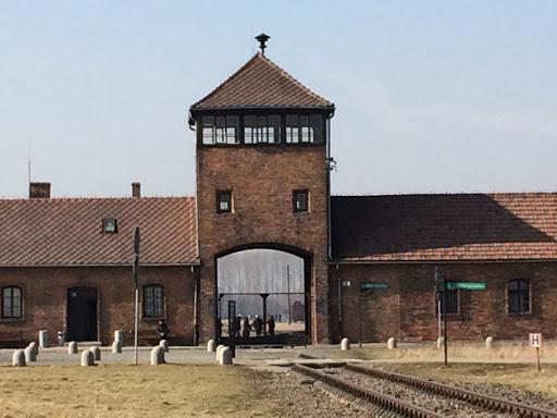 Entrée Auschwitz-Birkenau [Collection particulière]