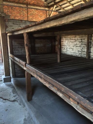 Intérieur Block/Châlit Auschwitz-Birkenau [Collection particulière]