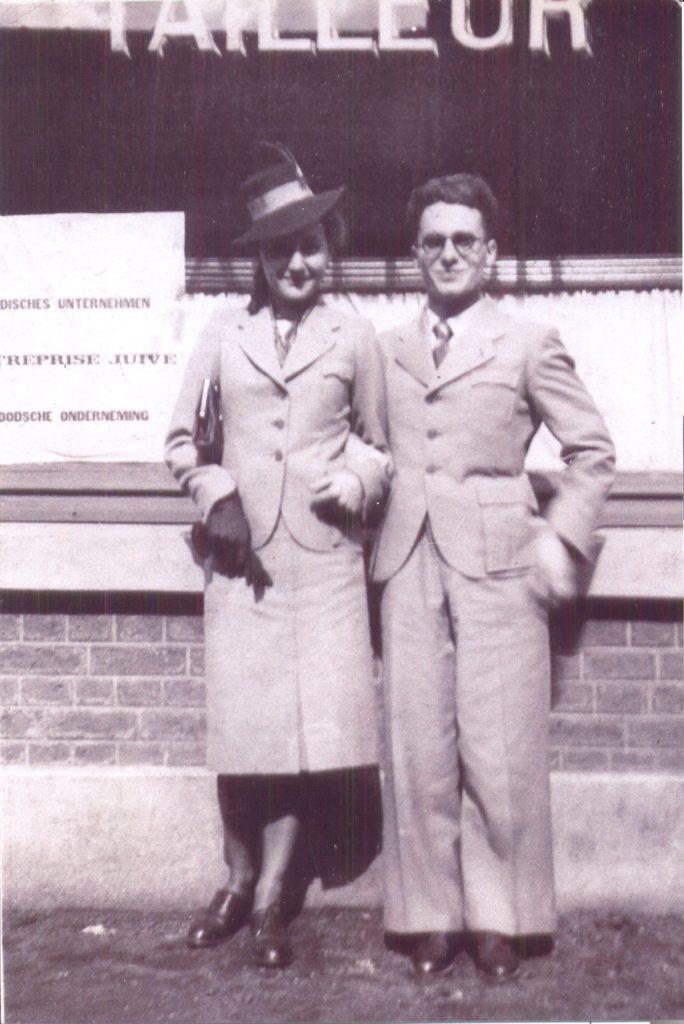 Julia et son mari Simon Varech années 40 [Musée de la Coupole]